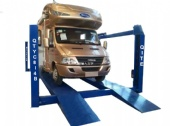 Electric Hydraulic Four Post Automobile Truck Platform Lifts